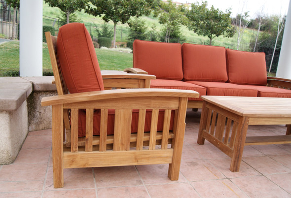 MissionTeak Deep Seating Sofa Set
