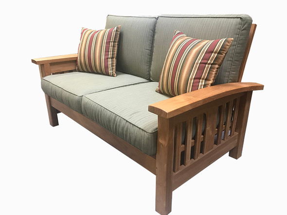 Mission Teak Love Seat By Classic Teak