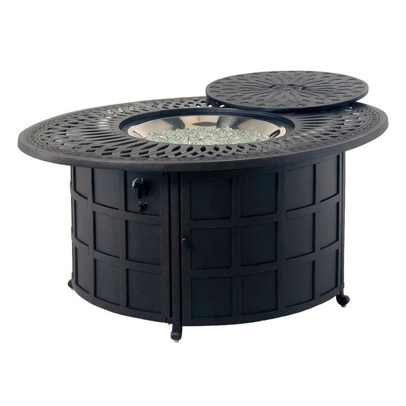 "Mayfair 48"" Round  Enclosed Gas Fire Pit Table"