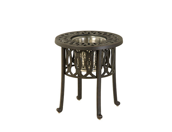 "Mayfair 20"" Round Ice Bucket Side Table by Hanamint"