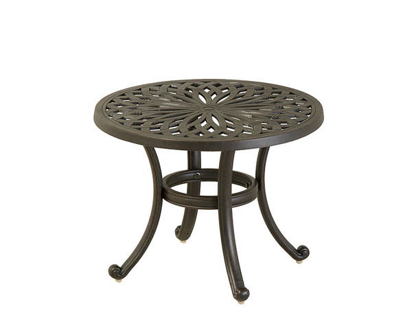 "Mayfair 24"" Round Tea Table by Hanamint"