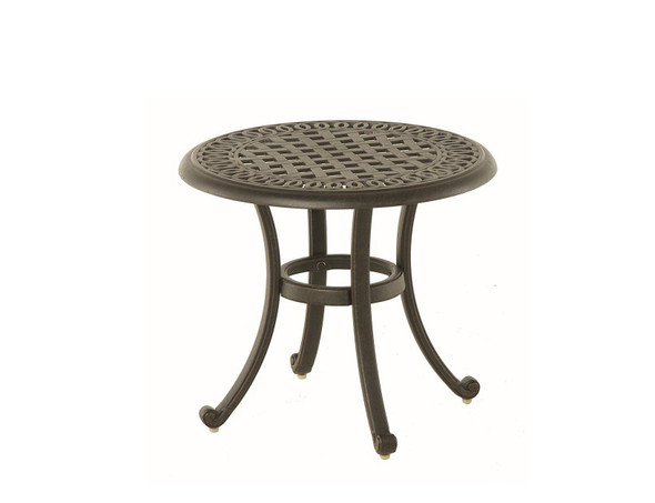 "Bella 21"" Round Tea Table	by Hanamint"