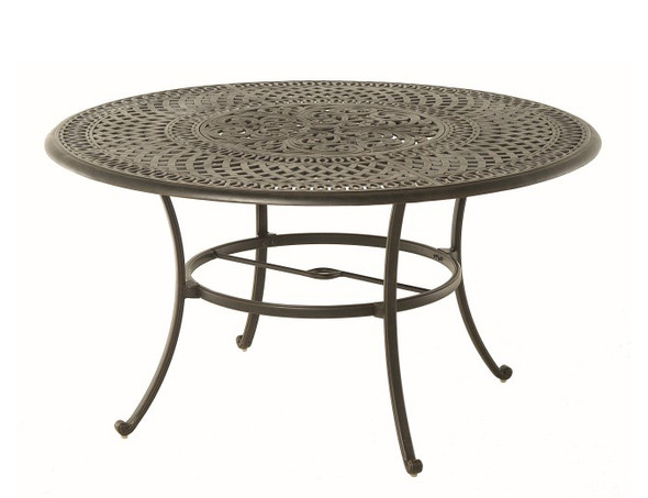 """Bella 60"""" Round Inlaid Lazy Susan Table by Hanamint"""