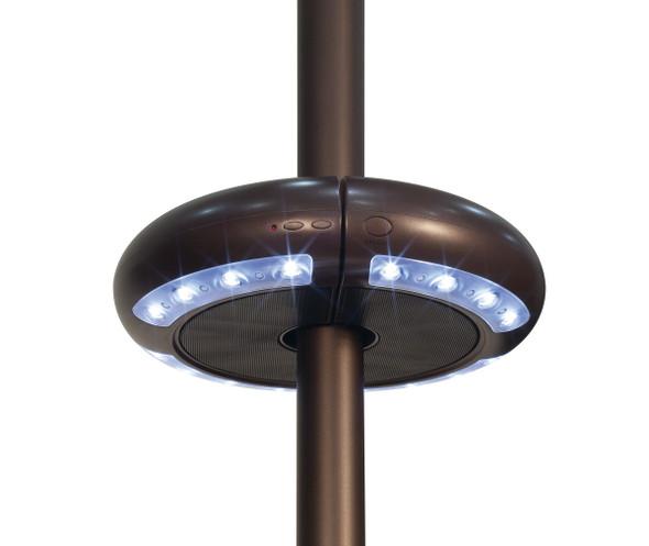 Luna Umbrella Light with Bluetooth® Speaker