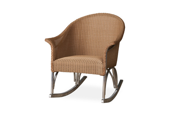 All Seasons Lounge Rocker with Padded Seat