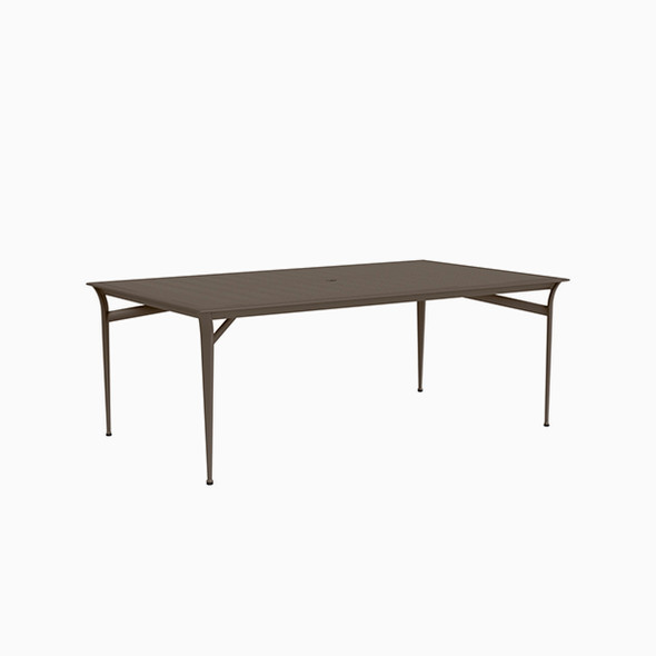 "Flight Aluminum Dining Table 45""x79"