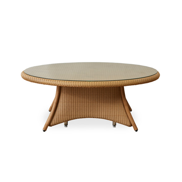 """48"""" Round Chat Table Universal Loom by Lloyd Flanders"""