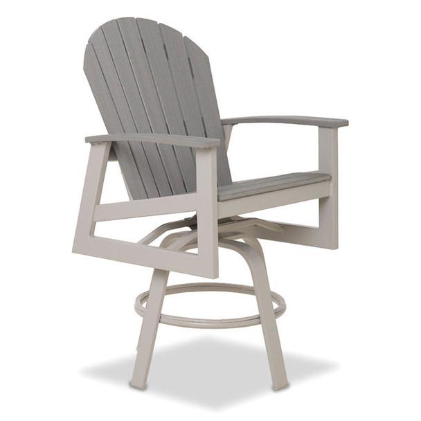 Newport Balcony Height Swivel Arm Chair By Telescope