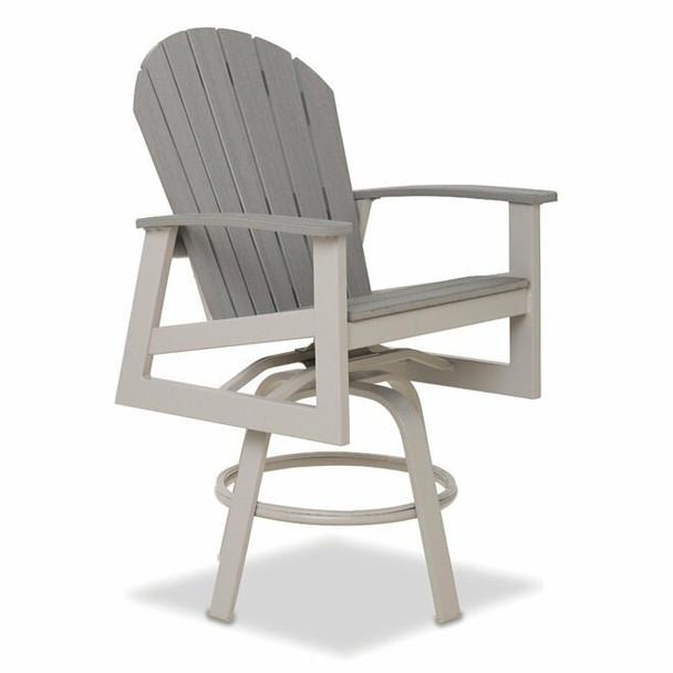 Newport Bar Height Swivel Arm Chair By Telescope