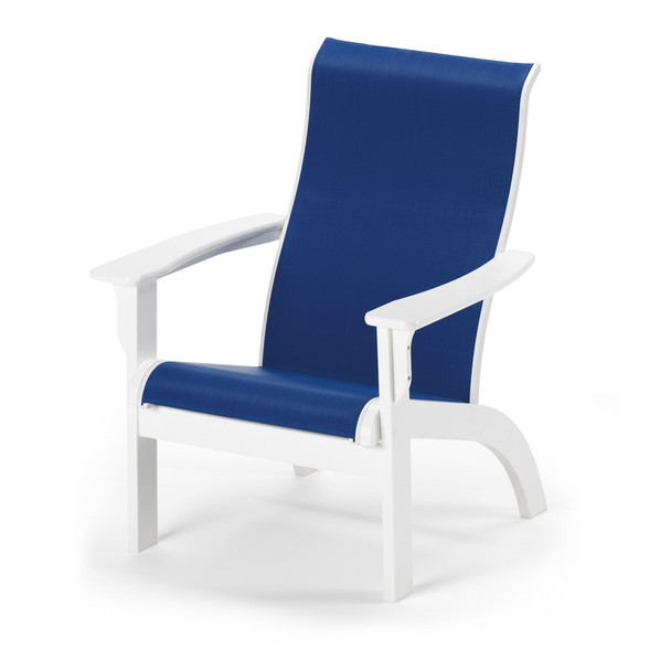 Adirondack MGP Sling Arm Chair Chat Arm Chair By Telescope