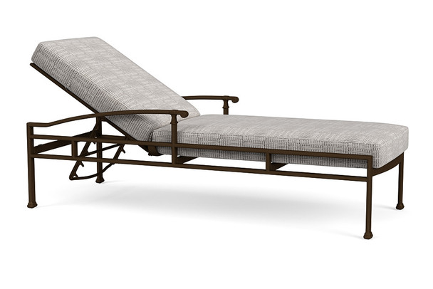 Fremont Cushion Adjustable Chaise By Brown Jordan