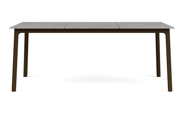 """Adapt 36""""x48"""" 36""""x72"""" Rectangle Dining Table  By Brown Jordan"""
