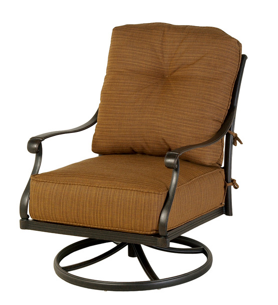 Mayfair Estate Club Swivel Rocker by Hanamint