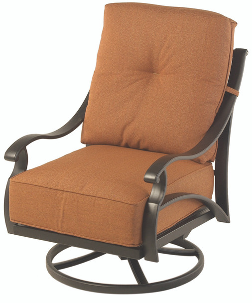 Somerset Estate Club Swivel Rocker By Hanamint