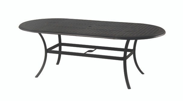"""NEW Classic 42"""" x 84"""" Oval Table By Hanamint"""