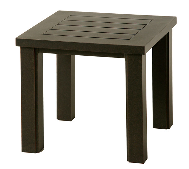 """Sherwood 24"""" Square End Table By Hanamint"""