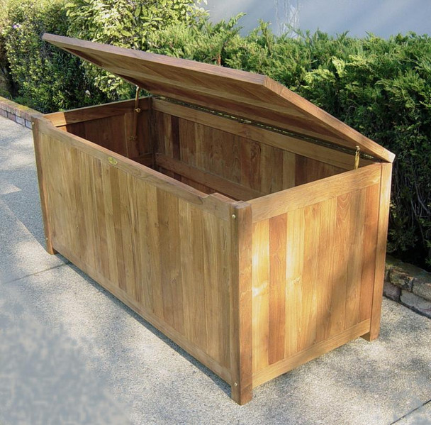 "Teak Storage Box 60"" Large"
