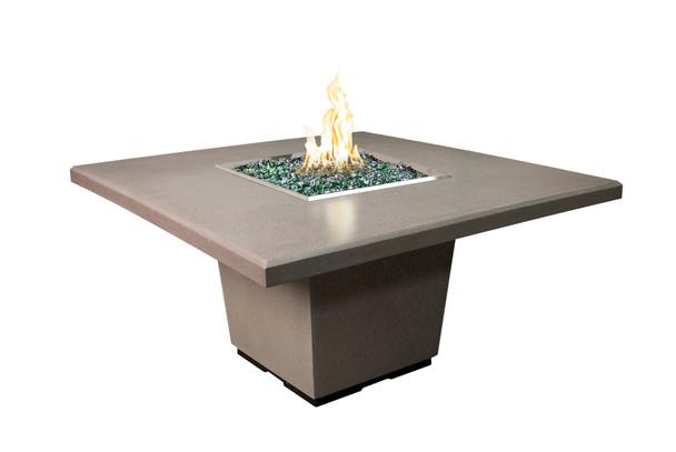 Cosmopolitan Square Din. Firetable by American Fyre Design