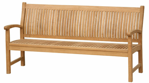 Marley Teak Bench 6' by Classic Teak
