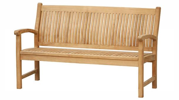 Marley Teak Bench 5' by Classic Teak