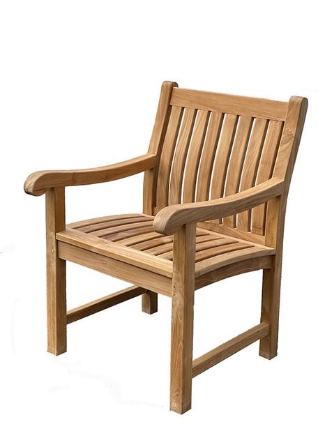 Teak Dining Arm Chair by Classic Teak