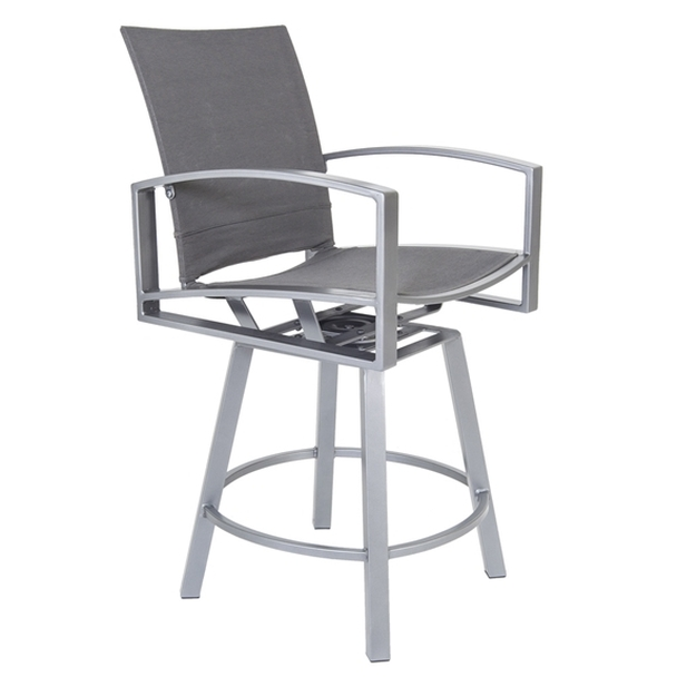 Pacifica Sling Swivel Counter Stool by OW Lee