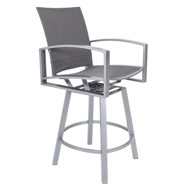 Pacifica FC Swivel Bar Stool with Arms by OW Lee
