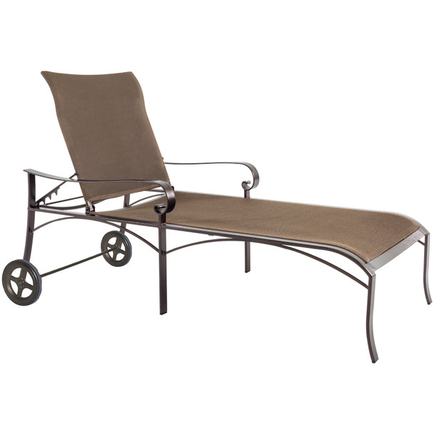 Pasadera Flex Comfort Chaise Lounge With Wheels by OW Lee