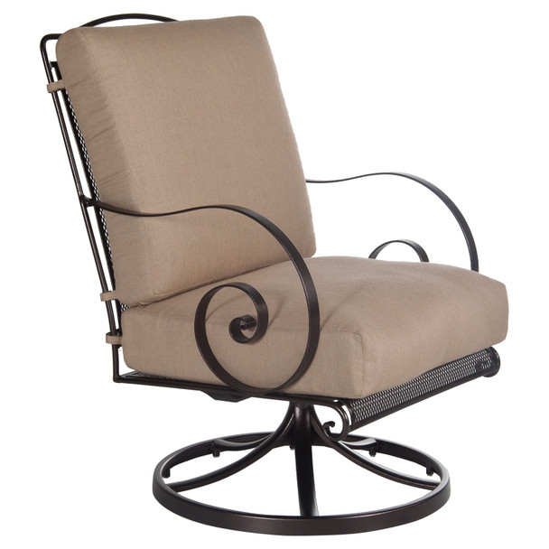 Avalon Swivel Rocker Lounge Chair by OW Lee