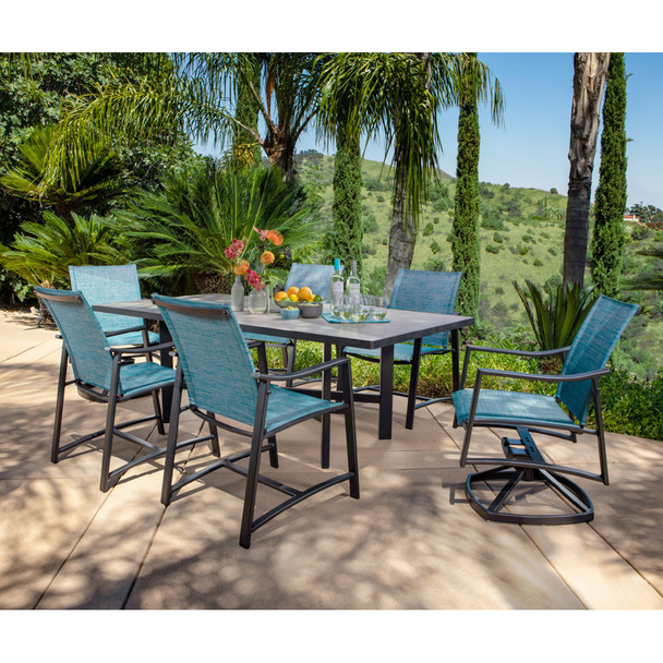 Avana  Outdoor Dining Set for 6 By Ow Lee