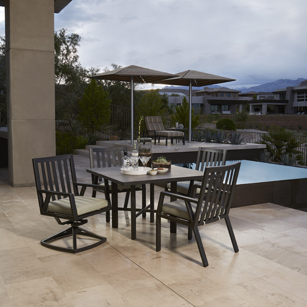 Aris Dining Set for 4 By Ow Lee