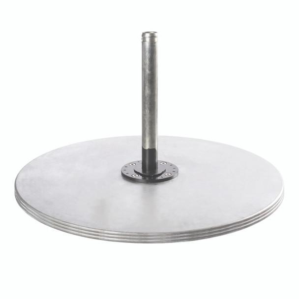 Galvanized Max Steel Plate Stack 550Lb by Frankford Umbrella