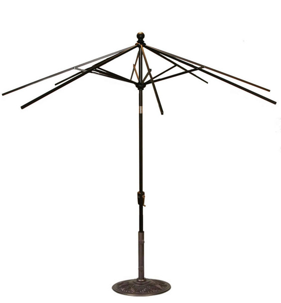 7.5FT Push Tilt Umbrella Frame Only By Treasure Garden