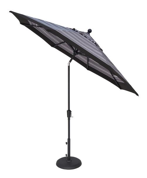 9' Push Button Tilt Octagon C Grade Umbrella by Treasure Garden