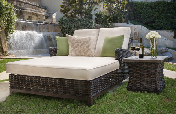 Catalina Adjustable Double Chaise Lounge Chair by Patio Renaissance