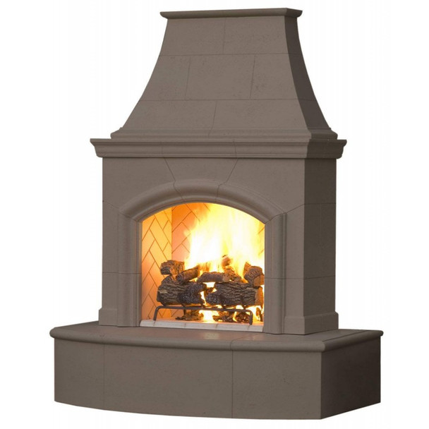 Phoenix Outdoor Gas Fireplace by American Fyre Designs