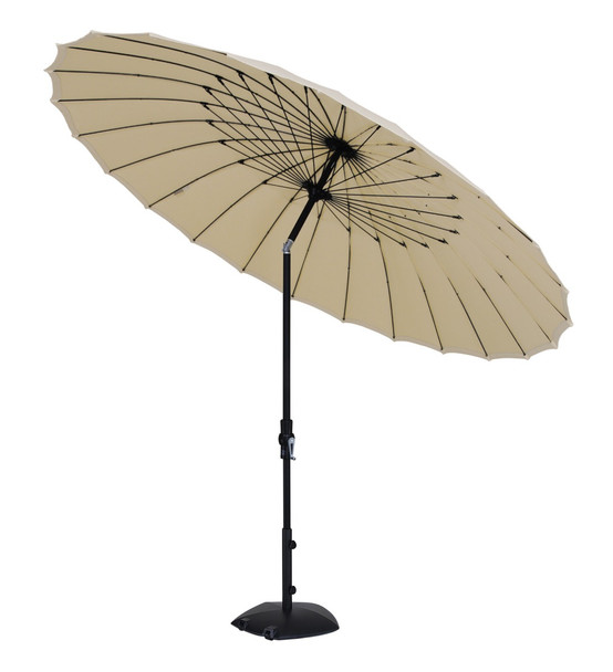 10' Shanghai Collar Tilt Round Umbrella