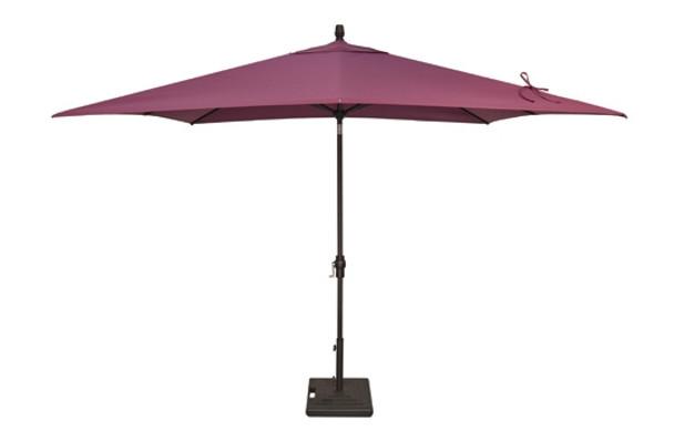 8'x10' Auto Tilt Rectangle Umbrella C Grade by Treasure Garden