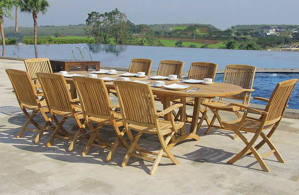 CAMBRIA EXTENSION TABLE SET 11PC