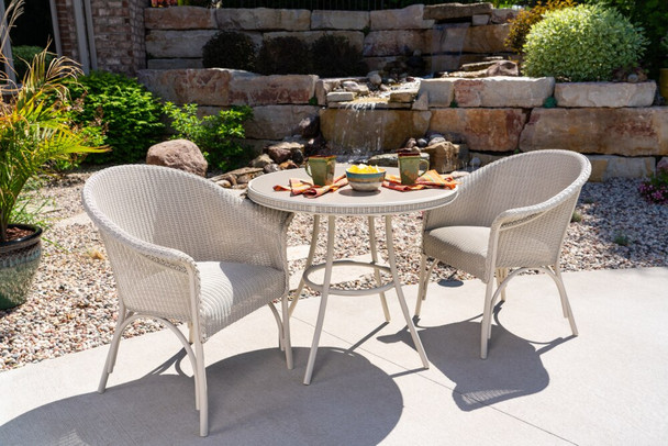 All Seasons  Bistro Set Padded Seat