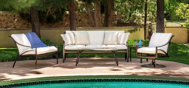 Pasadena Cushion Sofa Set by Brown Jordan