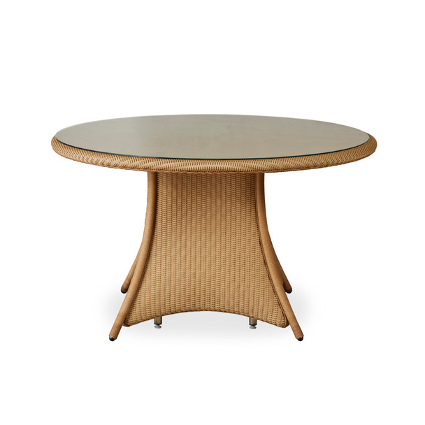 """48"""" Round Dining Table Universal Loom by Lloyd Flanders"""
