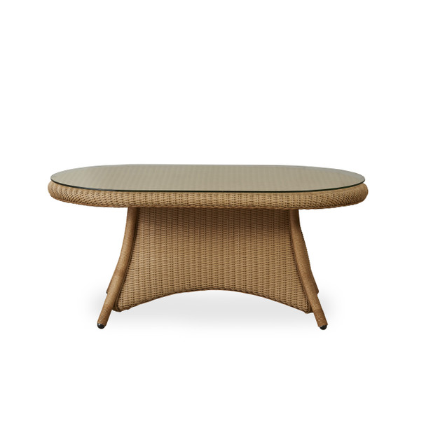 """42"""" Oval Cocktail Table Table Universal Loom by Lloyd Flanders"""