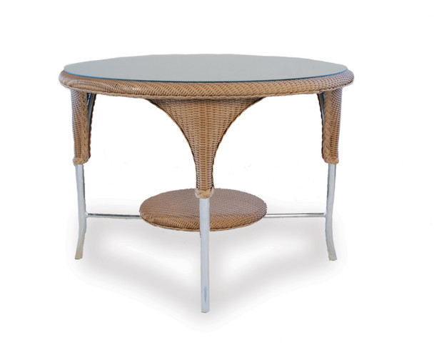 """42"""" Round Dining Table Universal Loom by Lloyd Flanders"""
