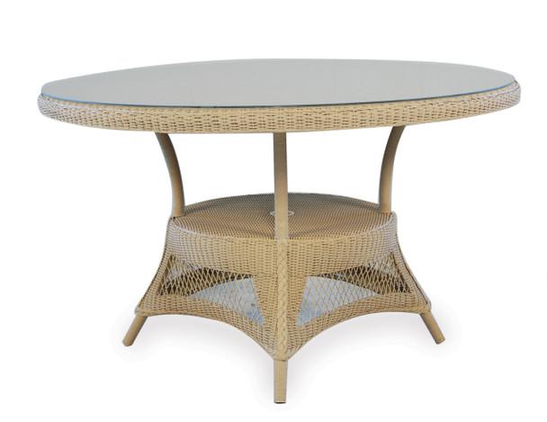 "49"" Round Umbrella Dining Table Universal Loom by Lloyd Flanders"