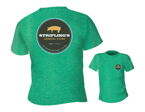 Stripling's T-shirt - Heather Green