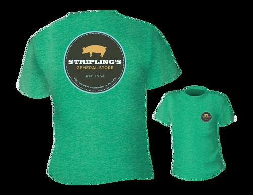 Stripling's T-shirt - Heather Green