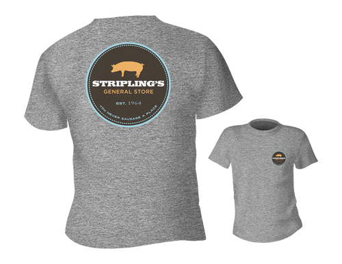 Stripling's T-shirt - Heather Light Gray