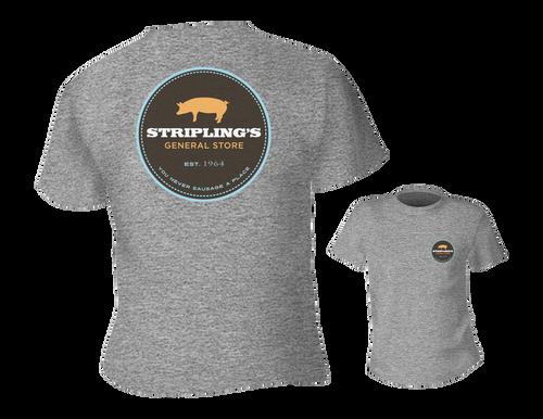 Stripling's T-shirt - Heather Light Gray
