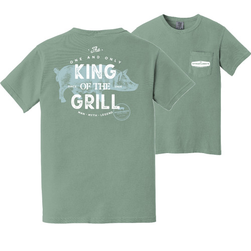 Stripling's Short Sleeve King of the Grill T-shirt- Bay